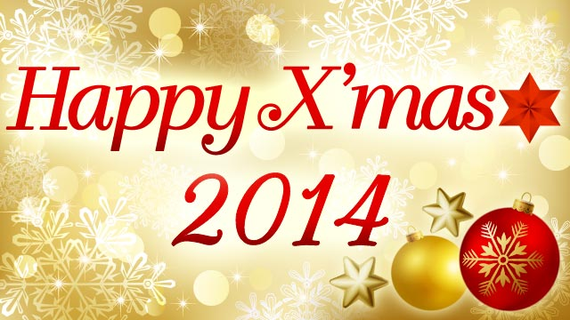 Happy X'mas 2014